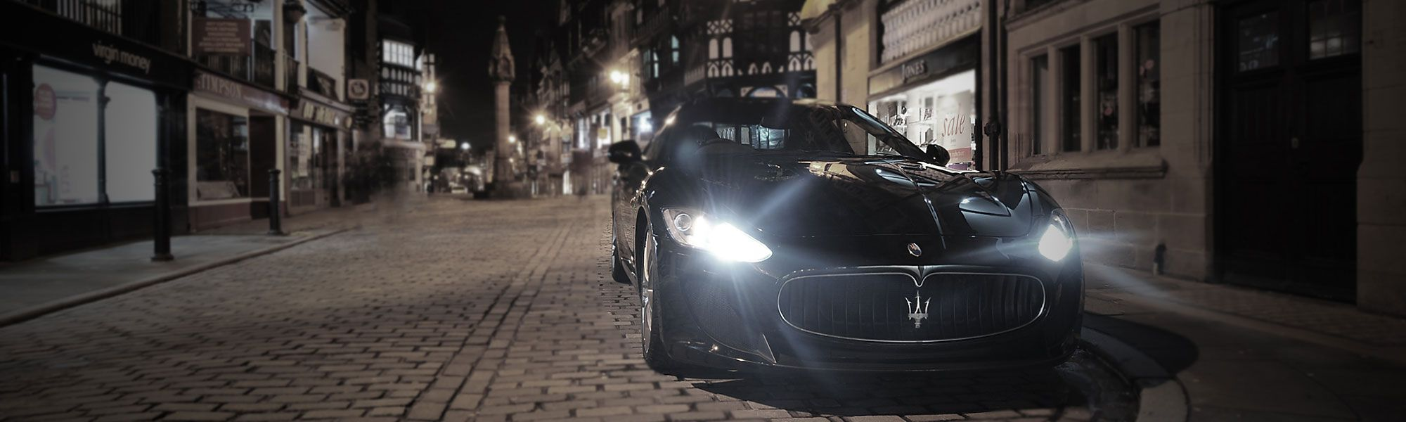 Maserati in Chester City centre
