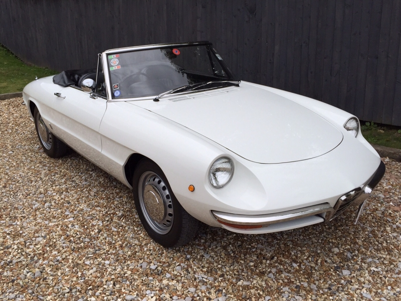 Alfa Romeo Roundtail' Spider Junior