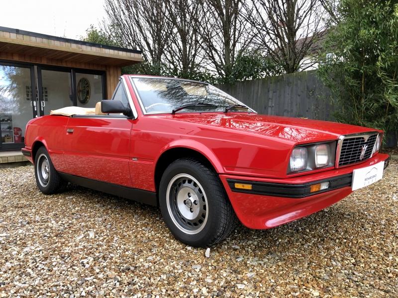 For Sale - Maserati Bi Turbo Spyder Zagato